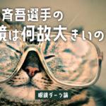 ダーツに向いている眼鏡